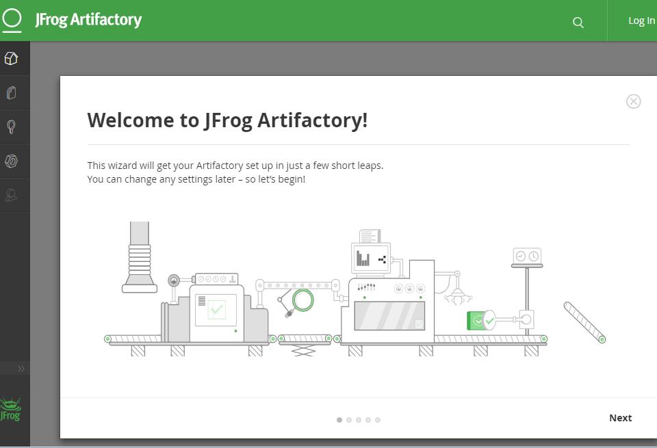 JFrog Artifactory Image Guide