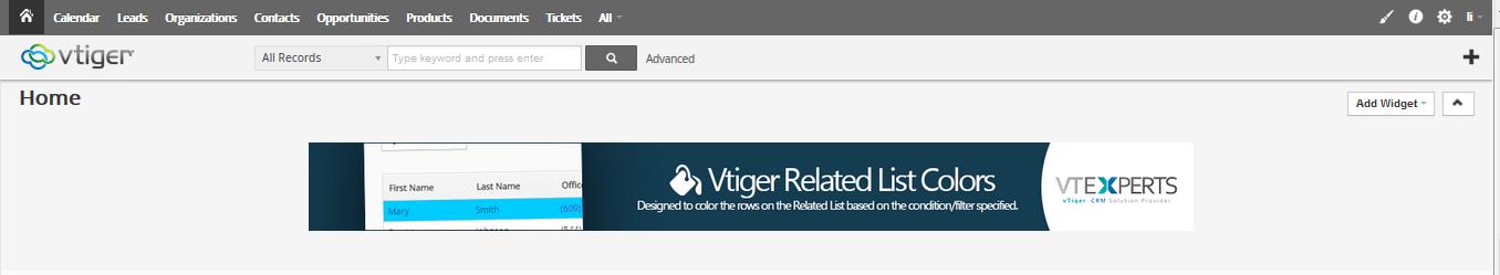VtigerCRM Image Guide VtigerCRM Stack Components
