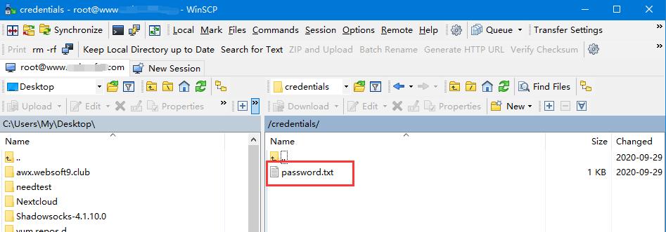 获取数据库密码